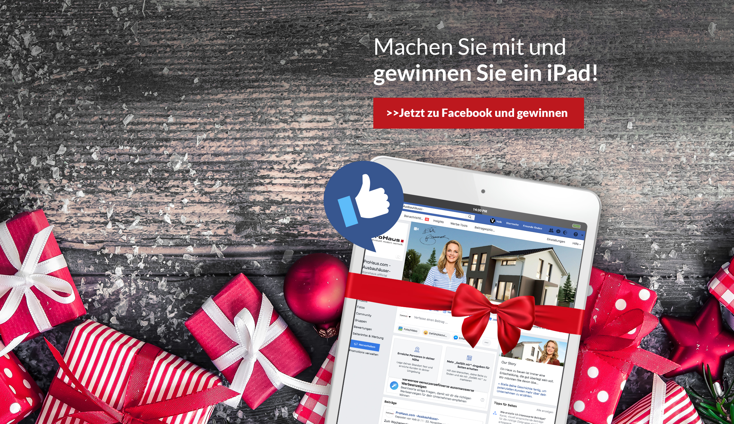ProHaus Facebook Adventskalender
