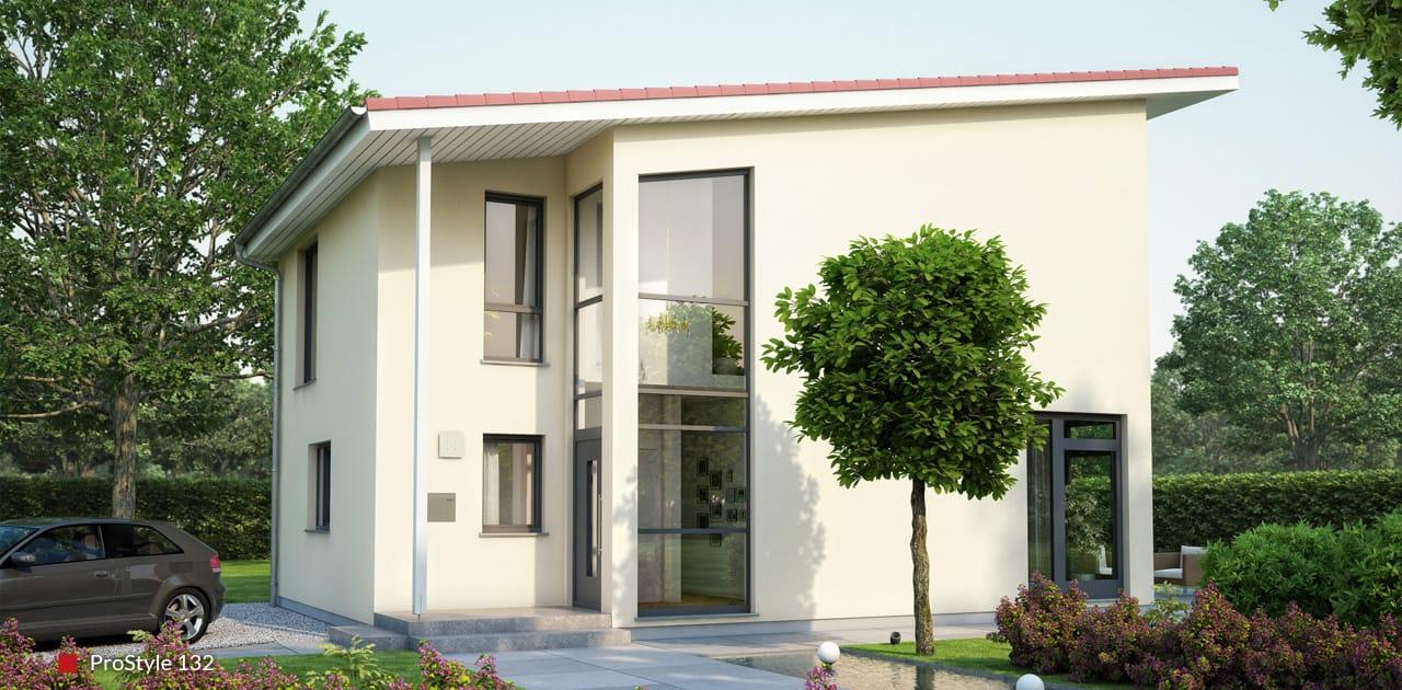 Einfamilienhaus ausbauhaus prostyle modernes haus bauen for Haus bauen modern pultdach