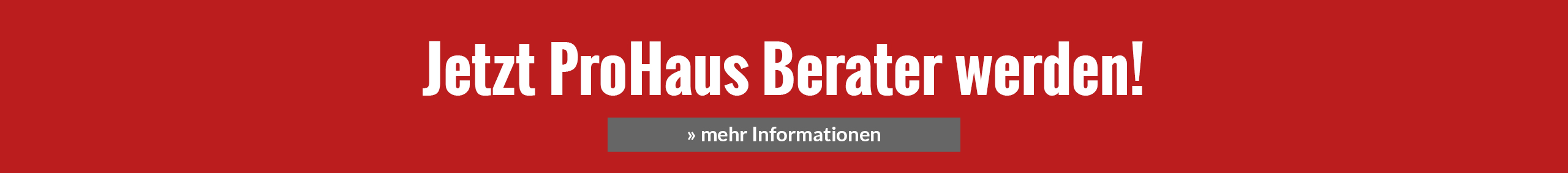 ProHaus Berater Informationen